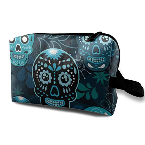 Grunge Cute Mexican Sugar Skulls Day of The