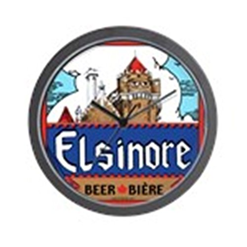 "CafePress - Elsinore Beer Wall Clock - Unique Decorative 10"" Wall Clock"