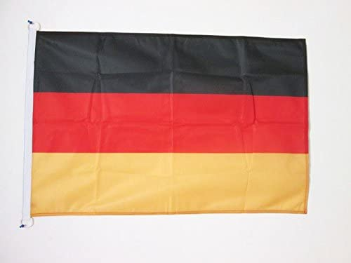 AZ FLAG Bandera de Alemania 90x60cm Uso Exterior - Bandera Alemana 60 x 90 cm Anillos: Amazon.es: Jardín