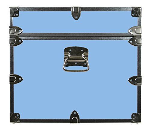 College Dorm Room & Summer Camp Lockable Trunk Footlocker with Wheels - Undergrad Trunk by C&N Footlockers - Available in 20 colors - Large: 32 x 18 x 16.5 Inches by C&N Footlockers (Image #5)