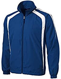 Mens or Youth Colorblock Full Zip Raglan Jackets in Regular, Big and Tall