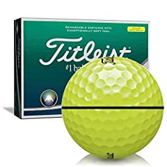 The New Titleist AVX golf ball utilizes breakthrough core, cover and aerodynamic technology. AVX is a premium performance golf ball for golfers who prioritize distance and extremely soft feel with a piercing, low ball flight. It has been engi...