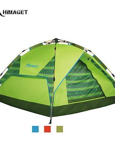 FUDA tent Zelt ( Gr¨¹n / Rot / Blau , 2 Personen ) -Feuchtigkeitsdurchl?ssigkeit / Feuchtigkeitsundurchl?ssig / Wasserdicht / Atmungsaktivit?t /