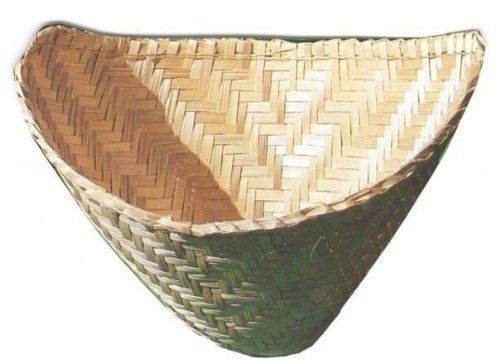 2 Thai Lao Sticky Rice Steamer Baskets Bamboo Kitchen Cookware Tool by Bangkok Center One