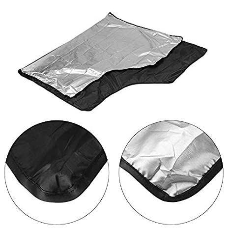 Silver Domeilleur da Auto Magnetico Parabrezza Copertura antigelo Guard Winter Protector Screen Cover Small