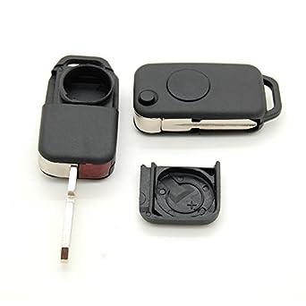 Carcasa llave mando a distancia Mercedes SL a e C: Amazon.es ...