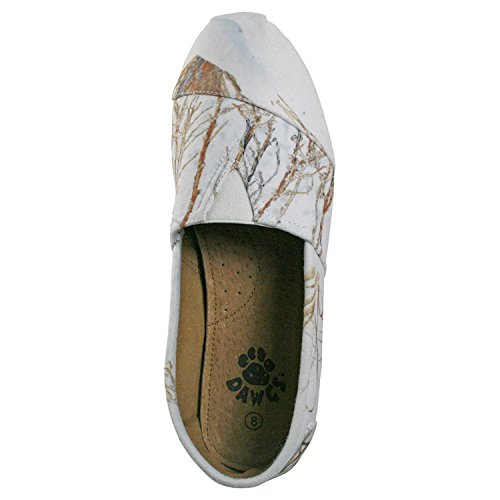 Dawgs Womens Mocassins Mocassins En Chêne Brosse Dhiver Taille 9