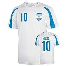 Argentina Sports Training Jersey (messi 10) - Kids