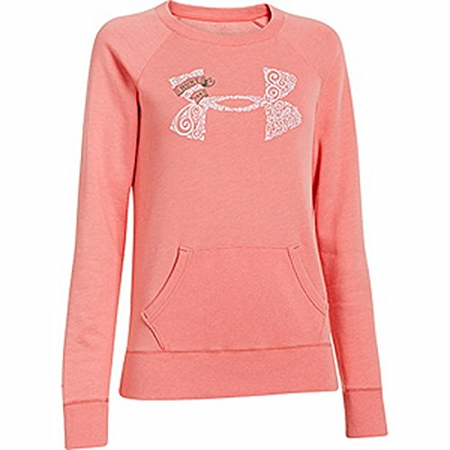 Under Armour Womens Hunt Legacy Hoody - Lg Coldgear Pink