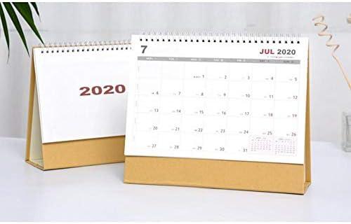 Calendario de escritorio 2020 con calendario de mesa de doble ...