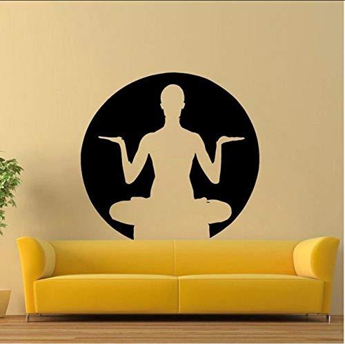 Lvabc Pose De Yoga Pared De Zen Sala De Estar Pegatinas De ...