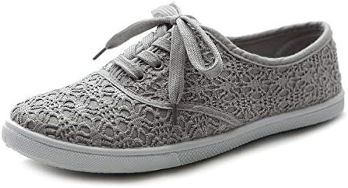 Ballet Shoe Lace Up Sneaker Canvas Flat