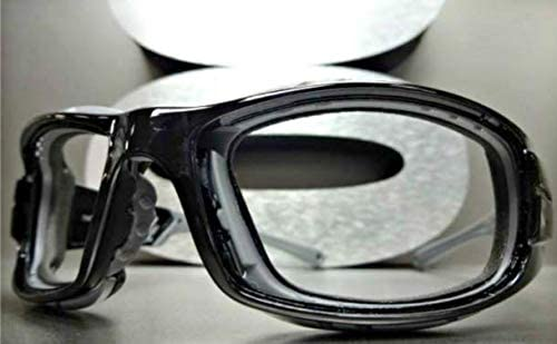 Racquetball Lens Lensless Protective Padded Safety Glasses Goggles Eyewear