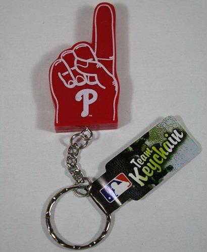 Philadelphia Phillies #1 Finger Keychain