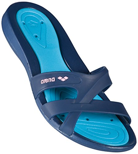 Blu Woman Light Donna Arena Spiaggia 071 Athena e Piscina Scarpe da Hook Denim C5awAxnazR