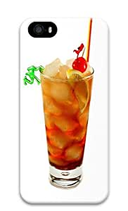 Fruit Cocktail PC Case Cover for iPhone 5 and iPhone 5s 3D
