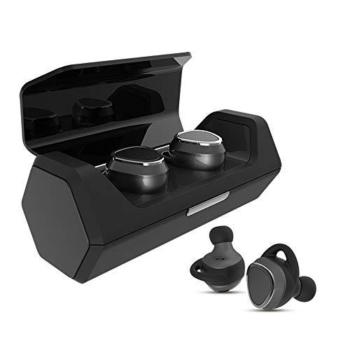 SUNLMG Bluetooth Mini 5.0 Auriculares Biauriculares Bluetooth Con Estuche De Carga Mejores Auriculares Estéreo Cancelación...