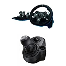 Logitech G920 Driving Force Racing Wheel with Logitech G Driving Force Shifter Bundle