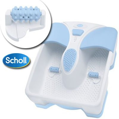 Scholl Cordless Rechargeable Foot Spa   Portable Foot Massager