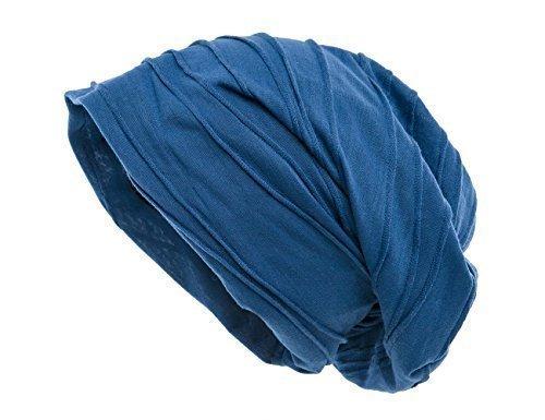 Azul Shenky Gorro Grueso caído grande wqRxTqUI