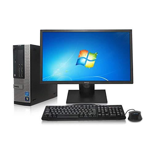 Dell Optiplex 9010 Desktop PC - Intel Core i5 3.6GHz, 8GB DDR3, New 1TB Hard Drive, Win 7 Pro 64-Bit, WiFi, USB 3.0, DVD, 2X Display Port + New 24in ()
