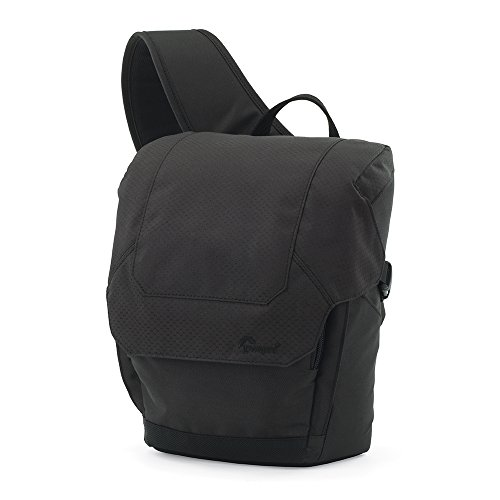 Lowepro Urban Photo Sling 150 Camera Bag For Point-and-Shoot or DSLR Cameras (Black)