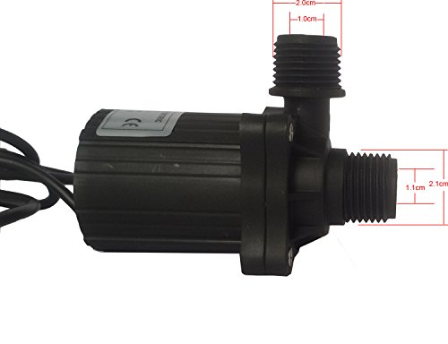 Fortric Zkwp05 Dc 12v Submersible Water Pump Powerhead For