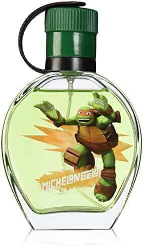 Marmol & Son Teenage Mutant Ninja Turtles EDT Spray, Michelangelo, 3.4 Ounce