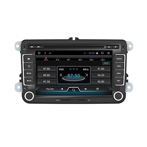Henhaoro 1024×600 7 Android 7.1 2 Din in Dash Car Stereo DVD Player for VW Volkswagen Jetta Golf Passat Polo EOS GPS Navi Radio