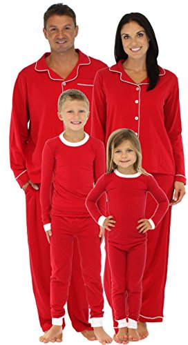SleepytimePjs Kids Red Family Matching Pajamas-8