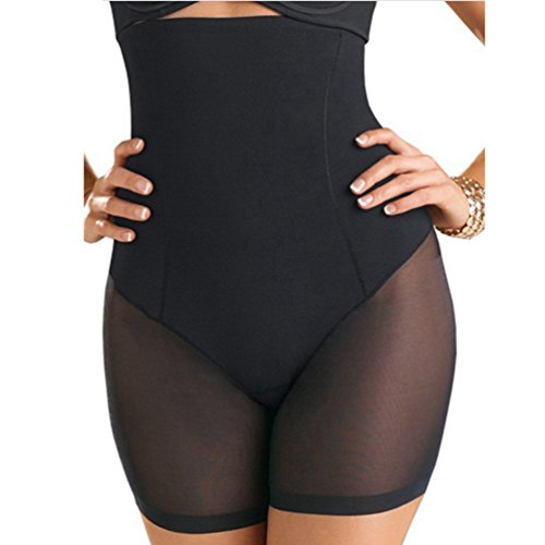 AOBRITON Slimming Abdomen Weight Loss Wear High Waist Nylon Panty Shaper Butt Lift Pants Women Waist Shorts Corset