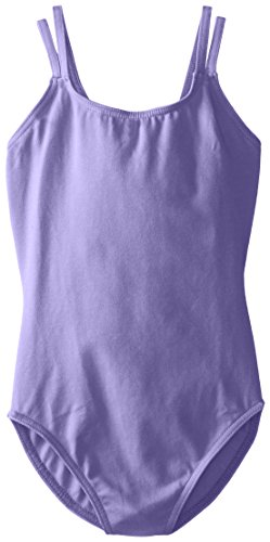 - Capezio Big Girls' Classics Double Strap Camisole Leotard, Amethyst, Medium