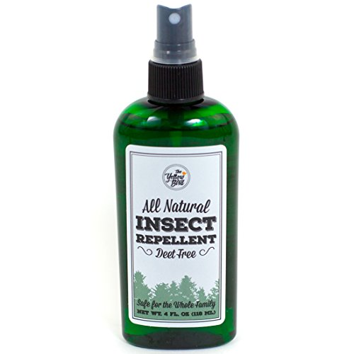 All Natural Insect Repellent, Long Lasting Deet Free Bug Spray That's Safe for Kids. Made in USA. 100% (Natural Fly All Spray)