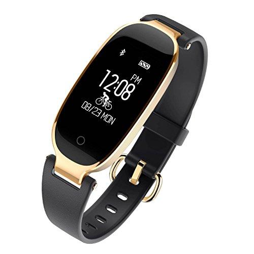 Fitness Tracker,WFCL Women Heart Rate Monitor Activity Sleep Monitor Waterproof Smart Bracelet...
