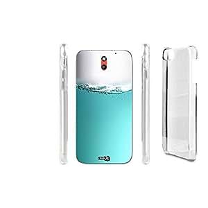 FUNDA CARCASA ACQUA BUBBLE PARA HTC DESIRE 610