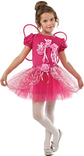 Rubies Pink Rose Fairy Dress-Up Costume, (Pink Rose Ballerina Costumes)
