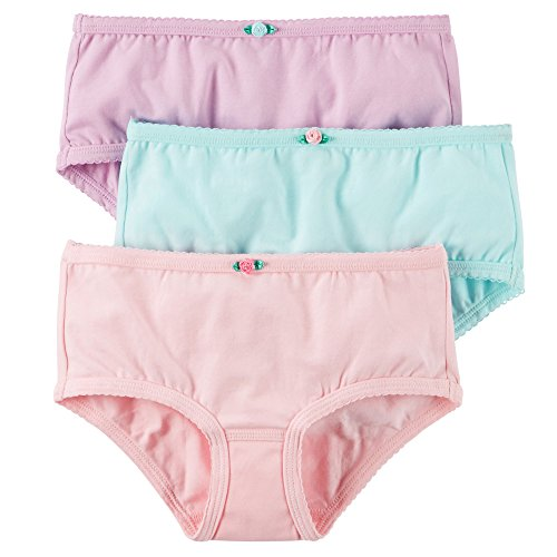 Carter's Little Girls' 3-pack Panties (Toddler/Kid) (4-5T, Pink