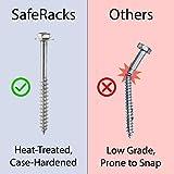 SafeRacks Factory Second - 4x8 Overhead Storage