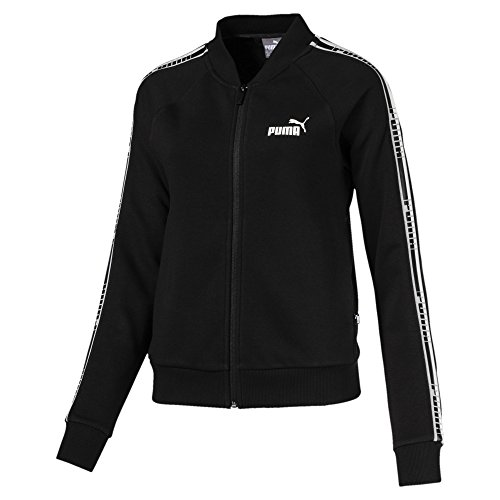 Black Fz Tr Tape Sweatshirt Jacket Puma Cotton Donna 5q80vUxwx