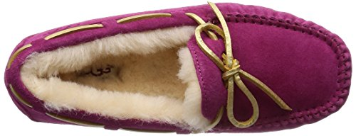 UGG Red Moccasin Violet Dakota Suede Women's rSqwpPr