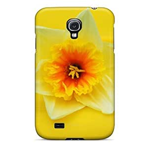 Premium Yellow On Yellow Back Cover Snap On Case For Galaxy S4