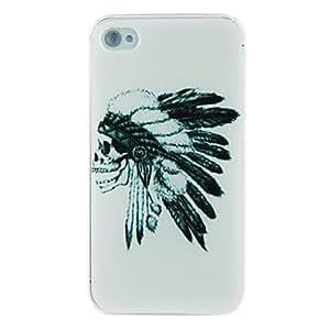Skull Embossment Back Case for iPhone 5/5S