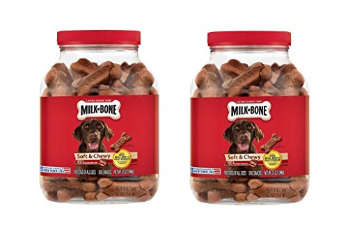 Cheap Milk-Bone Soft & Chewy Beef & Filet Mignon Recipe Dog Snacks (37 oz.)