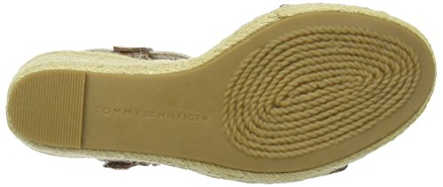 Tommy Hilfiger Emery 87c, Wedge Sandals Vrouw Braun (bruin 910)