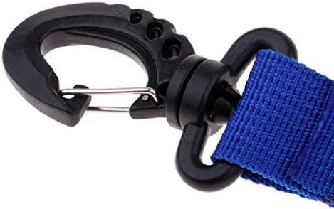 D DOLITY 弾性 スキューバ ダイビング カメラス プリング コイルストラップ クイックリリースバックル 全3色