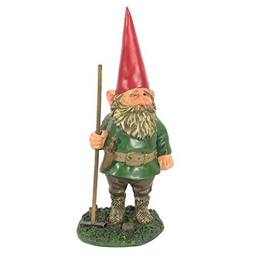 Sunnydaze Decor Woody Jr. the Gardener Gnome Garden Statue