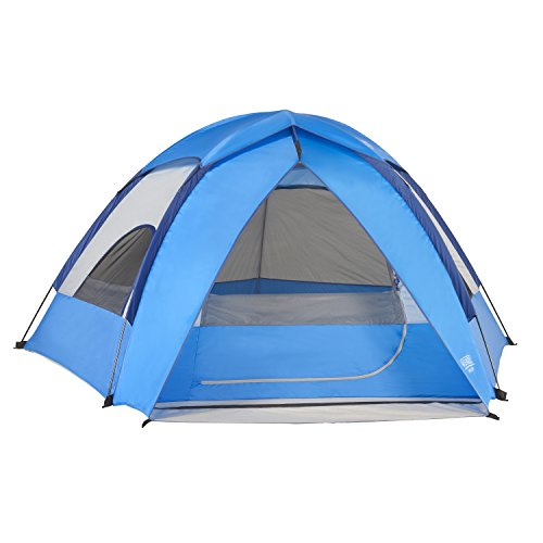 Camping Equipment. Wenzel Alpine 3 Person Tent, Blue