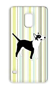 Animals Nature Sweet Lovely Bull Terrier Animal Bully Dog Dogs White Bully Rudi TPU For Sumsang Galaxy S5 Case