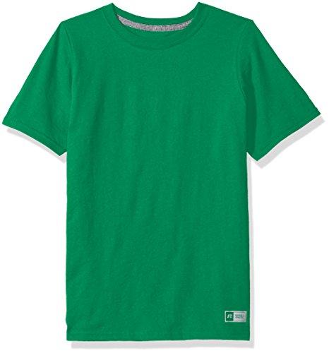Russell Athletic Big Boys' Essential Short Sleeve Tee, Kelly, M