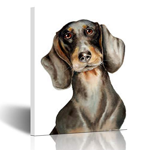 Homeyard Canvas Prints Wall Art Old Dachshund Sweet for sale  Delivered anywhere in USA